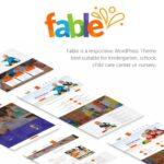 Fable Children Kindergarten WordPress Theme