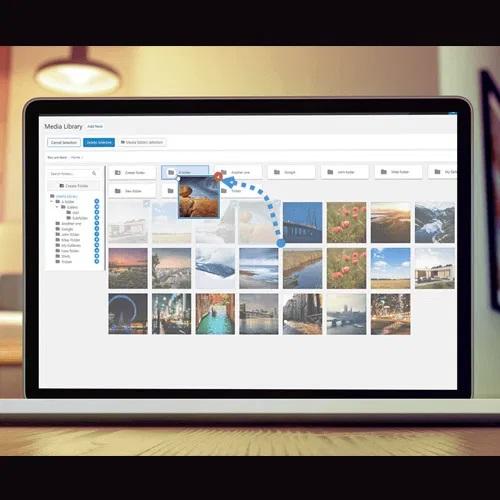 WP Media Folder Media Library With Folders