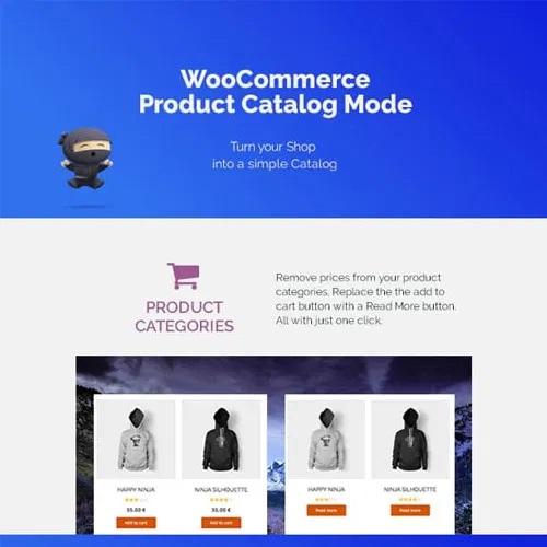 WooCommerce Product Catalog Mode Enquiry Form